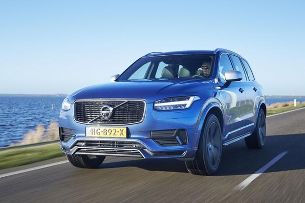 Volvo XC90 is Zakenauto van het Jaar 2017