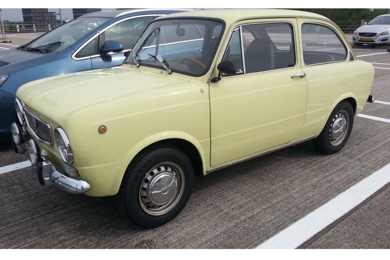 Fiat 850 in het wild in Autoweek