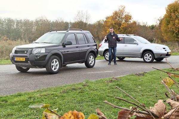 Video: Mitsubishi Outlander vs Land Rover Freelander