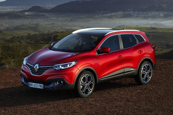 Motorenpalet Renault Kadjar bekend