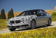 BMW 7-serie beplakt