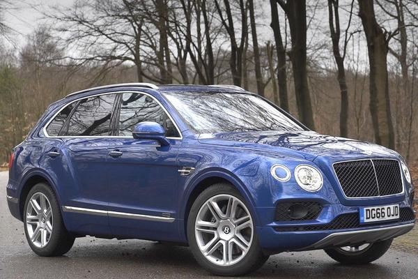 Video: Bentley Bentayga Diesel - Rij-impressie
