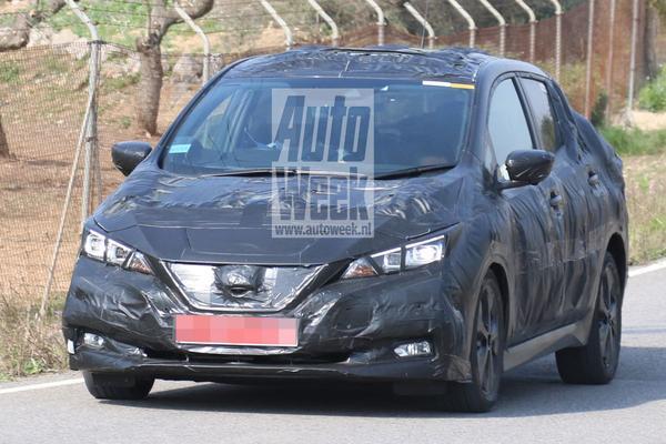 Nieuwe Nissan Leaf voor het eerst in beeld