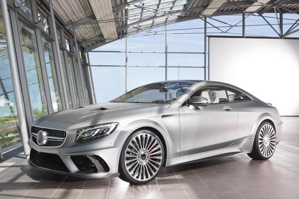 Mansory traint Mercedes S-klasse Coupé af