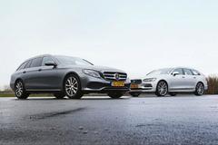 Mercedes-Benz E-klasse Estate vs. Volvo V90