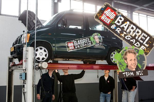 Video: Barrelbrigade Klokje Rond - Suzuki Wagon R+ - Nic de Boer