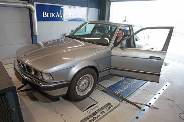 Video: BMW 750i - Op de Rollenbank