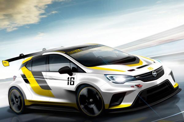 Opel Astra krijgt nieuwe TCR-raceversie