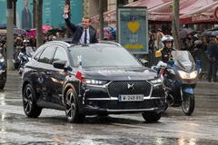 Presidentiële DS7 Crossback voor Macron