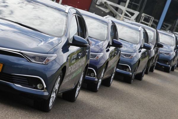 Ruim 20% meer milieu-auto's in Europa
