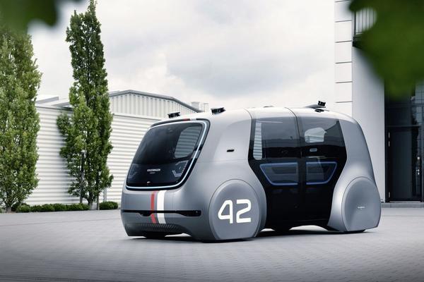 Volkswagen wil autonome deelauto in 2021