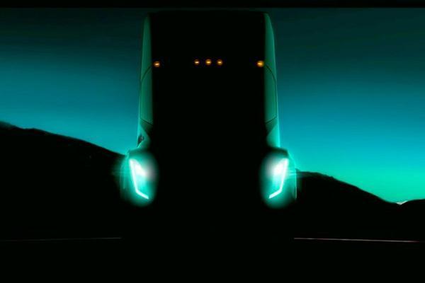 Tesla toont teaser vrachtwagen