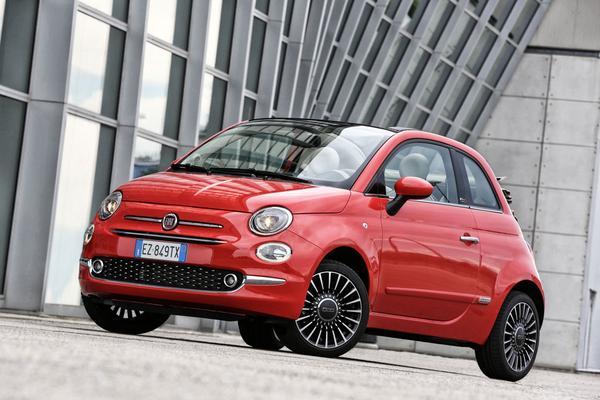 Fiat 500 ondergaat kleine facelift