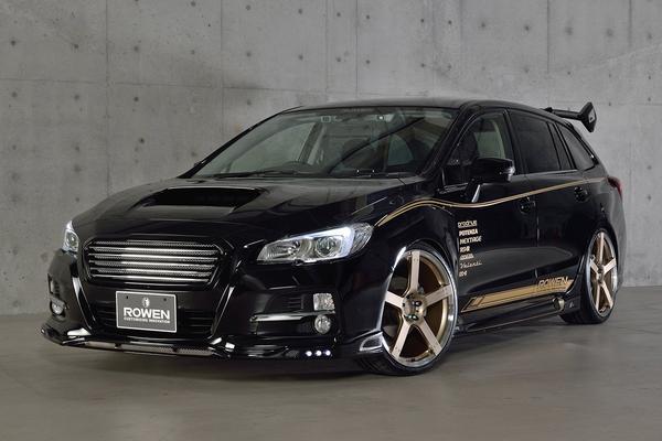Subaru Levorg volgens Rowen