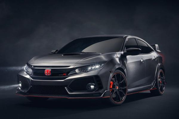 Honda laat Civic Type-R Concept los
