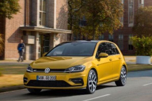 Volkswagen Golf facelift gelekt!