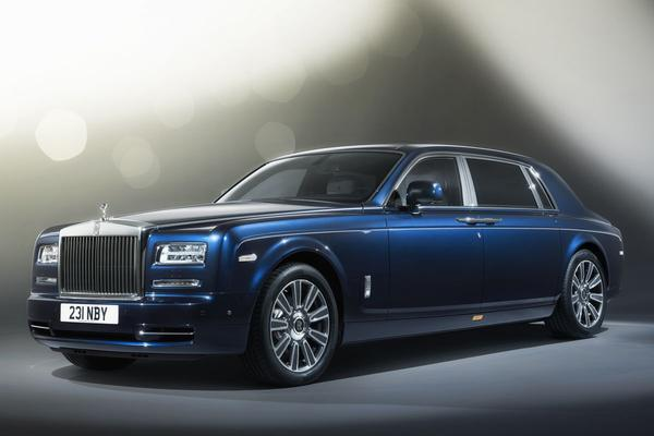 Rolls-Royce Phantom Limelight: marineren in weelde
