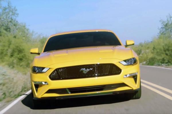 Gefacelifte Ford Mustang duikt op in video!
