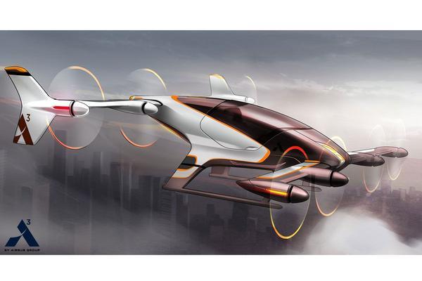 Airbus test dit jaar een autonome vliegende auto