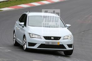 Seat Leon ST Cupra stuift over de 'Ring