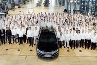 Volkswagen Phaeton productie