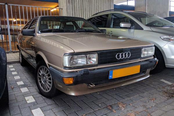 In het wild: Audi Coupé (1985)