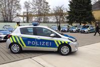 Toyota Yaris Polizei