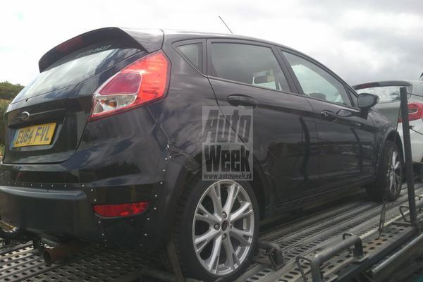 Lezersspionage: Ford Ka en Fiesta (RS) mule