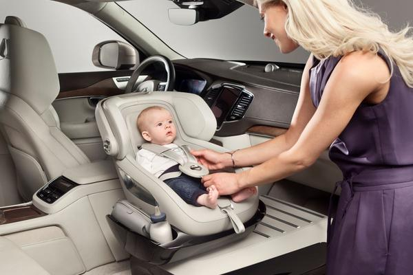 Volvo toont Excellence Child Seat Concept