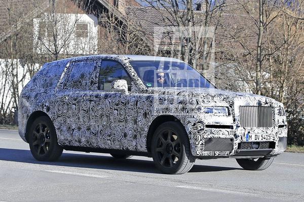 Rolls-Royce 'Cullinan' gesnapt