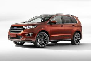 Zevenzits Ford Edge voor China