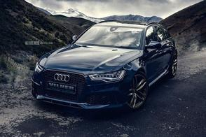 Vilner maakt Audi RS6 schimmig