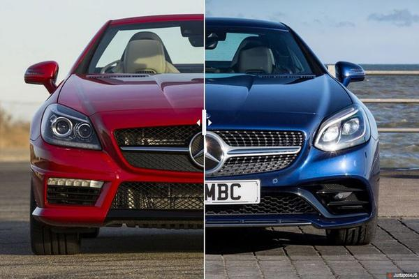 Facelift Friday: Mercedes SLK