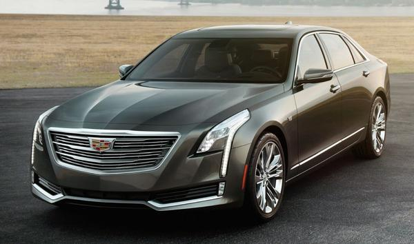 Dit is de Cadillac CT6!