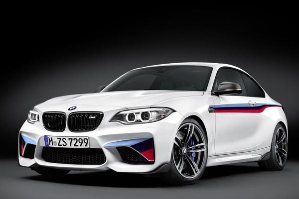 BMW dompelt M2 onder in M Performance-spullen