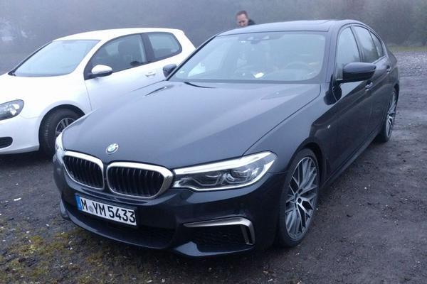 In het wild: BMW 5-serie (2017)