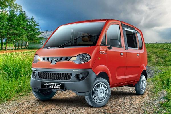Mahindra Jeeto Minivan voor India