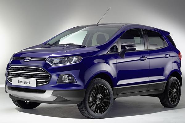 Officieel: Ford Ecosport werpt reservewiel af