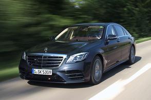 Mercedes-Benz S-klasse - Rij-impressie