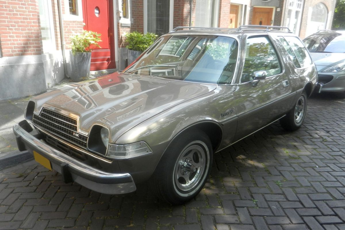 in het wild amc pacer 1978 autonieuws. Black Bedroom Furniture Sets. Home Design Ideas