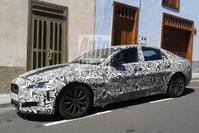 Jaguar XF spyshots