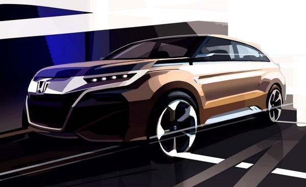 Honda komt met nieuwe SUV