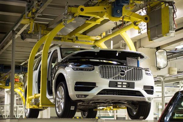 Volvo bouwt eerste fabriek in VS