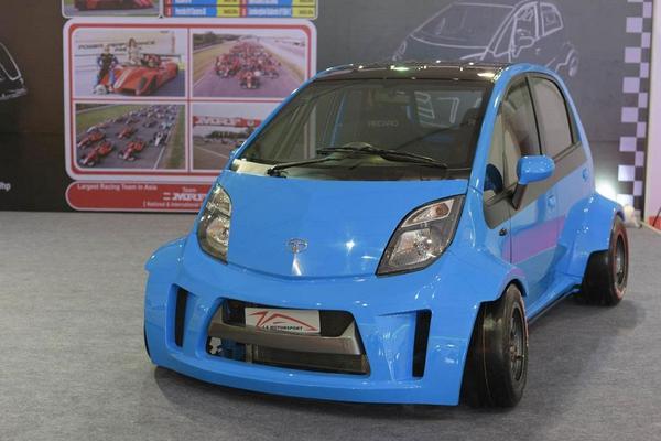 Opper-Tata Nano met 230 pk!
