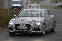 Audi A5 spyshots