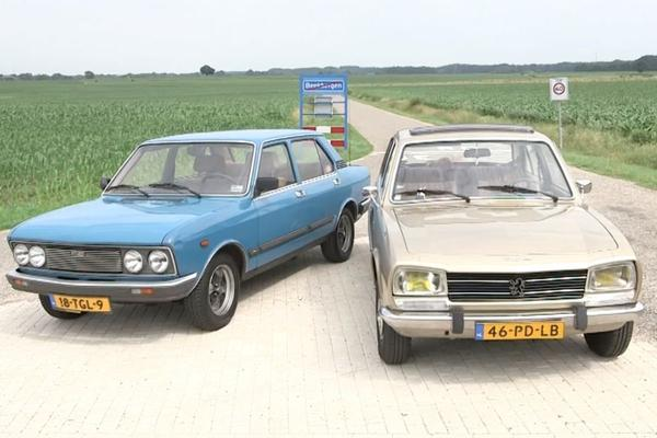 Video: Peugeot 504 vs. Fiat 132 - Classics Dubbeltest