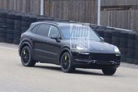 Porsche Cayenne spyshots