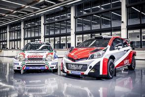 Toyota keert terug in WRC met Yaris