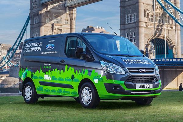 Ford start proef met plug-in Transit