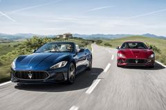 Vernieuwde Maserati GranTurismo en Cabrio geprijsd